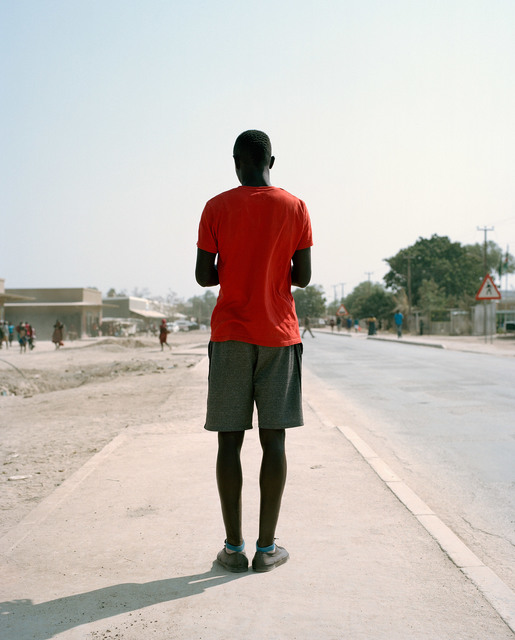 Francois Visser, 'Man in Street, Namibia', 2015, Photography, Archival pigment print, THK Gallery