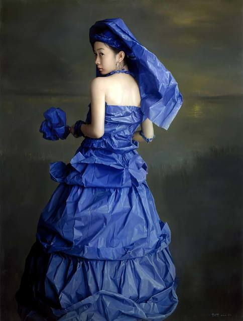 , 'Blue Paper Bride - Memories,' 2014, Tanya Baxter Contemporary