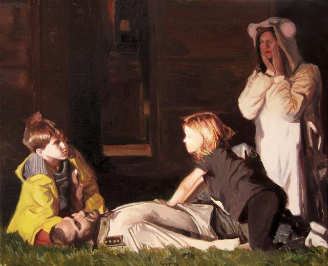 , 'La família del capitán,' 2017, Galeria Contrast