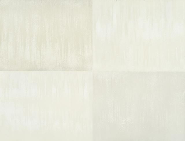 , 'Aux quatre vents: courant d'air (blanc), #1,' 2017-2018, Galerie Antoine Ertaskiran
