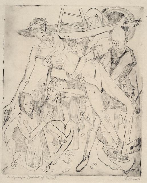 , 'Kreuzabnahme,' 1918, Charles Nodrum Gallery
