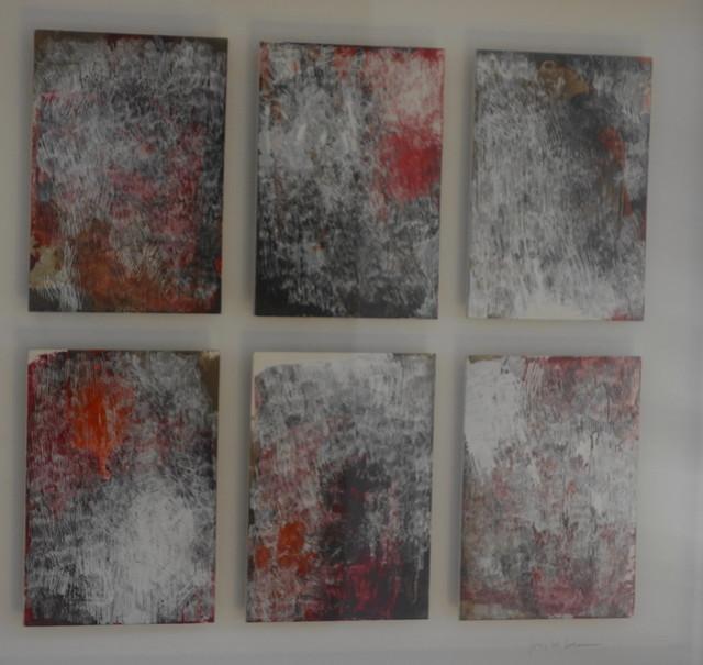 , 'Rosetta I (6 cards),' 2018, PontArte