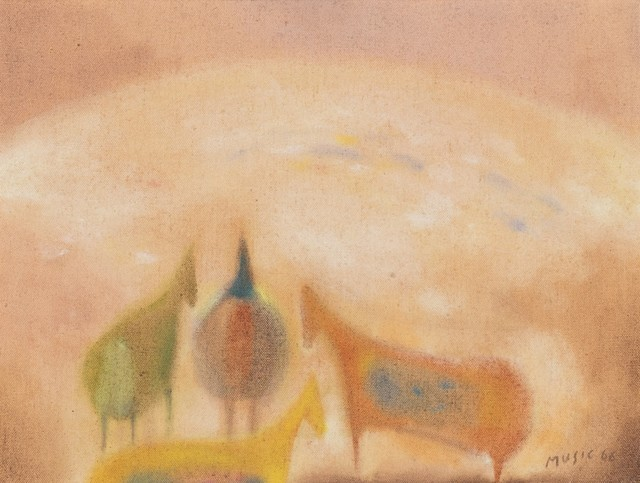 Zoran Antonio Mušič, 'Dalmatian motif', 1968/'69, Finarte