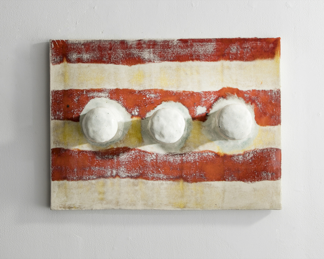 , 'Glazed Ceramic Tile with Three Hooks,' 2016, R & Company