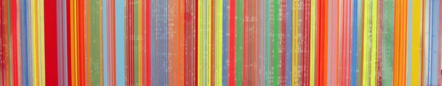 , 'Barcode Series,' 2010, David Richard Gallery