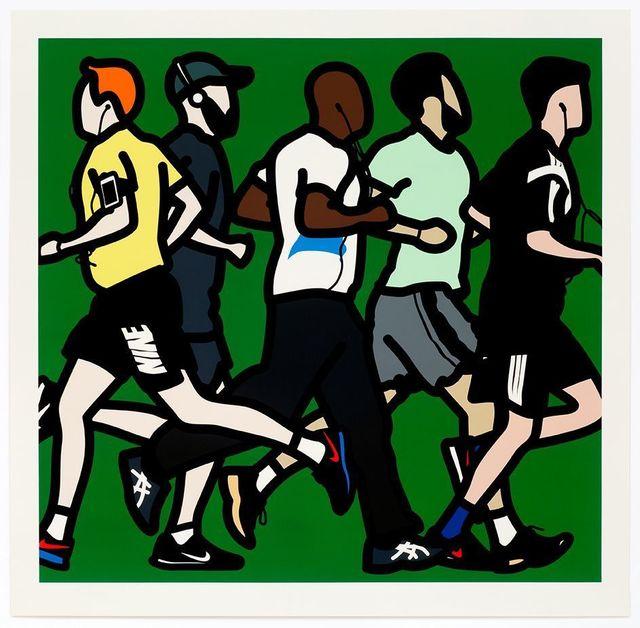 Julian Opie, 'Runners. Running Men.', 2016, Galerie de Bellefeuille