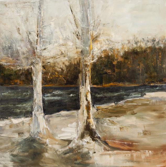 , 'Birches,' 2014, Winsor Gallery
