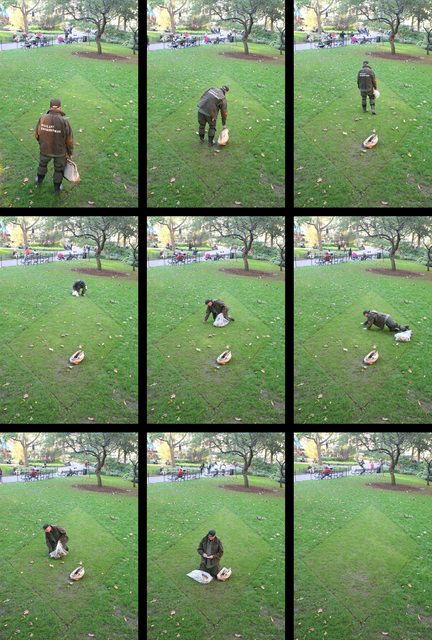 , 'Madison Square Trapezoids, with Performances by the Vigilant Groundsman,' 2009, Madison Square Park