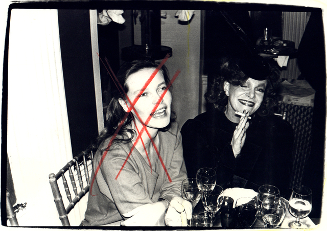Andy Warhol, 'Andy Warhol, Photograph of Suzie Frankfurt and a Woman, 1970s', 1970s, Hedges Projects