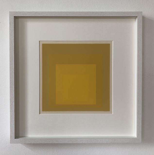 Josef Albers, 'Rare Echo', 1965, inch&cm