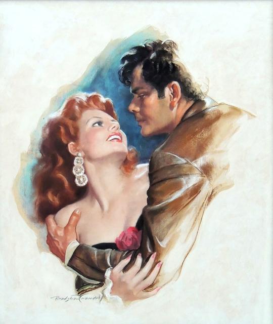 Bradshaw Crandell, 'Rita Hayworth & Glen Ford, Movie Poster Illustration', 1948, The Illustrated Gallery