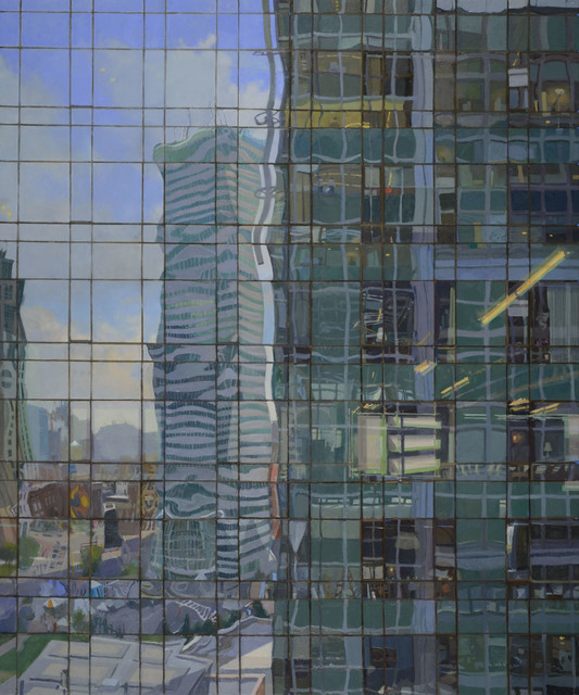 , 'Financial Center,' 2012, Gallery NAGA