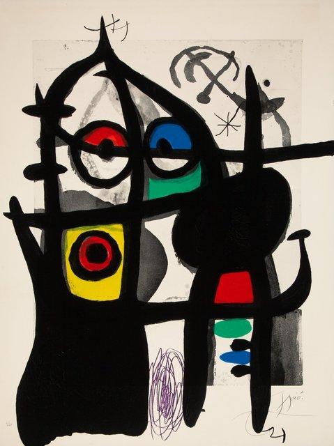Joan Miró, 'Le Captive', 1969, Heritage Auctions