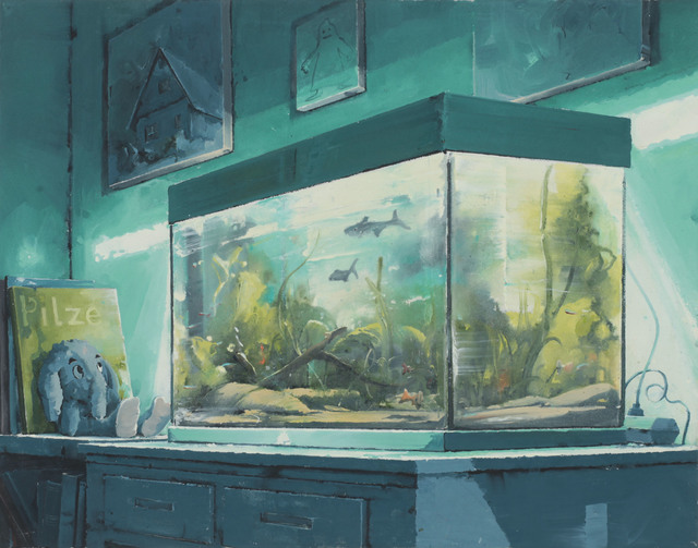 , 'Im Aquarium 3,' 2017, Galerie Fons Welters