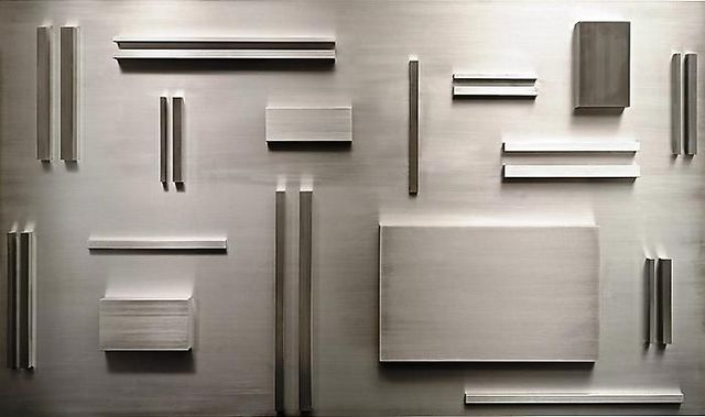 , 'Aluminum Elements Spaced According to Fibonacci,' 2008, Leila Heller Gallery