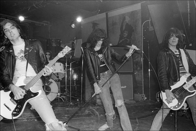 , 'The Ramones perform at CBGB,' 1977, Madelyn Jordon Fine Art