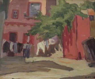 , 'Backyard, Toronto,' 1919, Arctic Experience McNaught Gallery