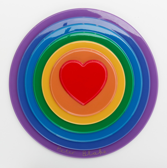 , 'Rainbow Target,' 2016, Rhodes