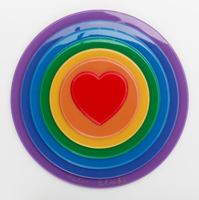 , 'Rainbow Target,' 2016, Lawrence Alkin Gallery