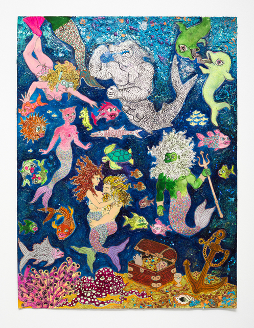, 'Neptune's Net,' 2016, Jeff Bailey Gallery