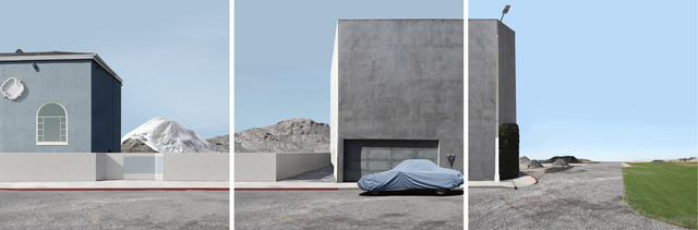 , 'Landscape with Covered Car,' 2012, Galerie Richard