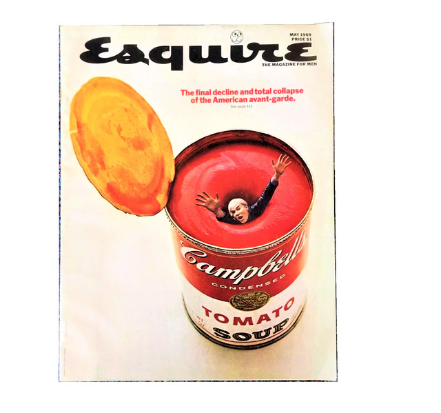"""Andy Warhol, '""""The Final Decline and total Collapse of the American Avant-Garde"""", Esquire Magazine - May 1969', 1969, VINCE fine arts/ephemera"""