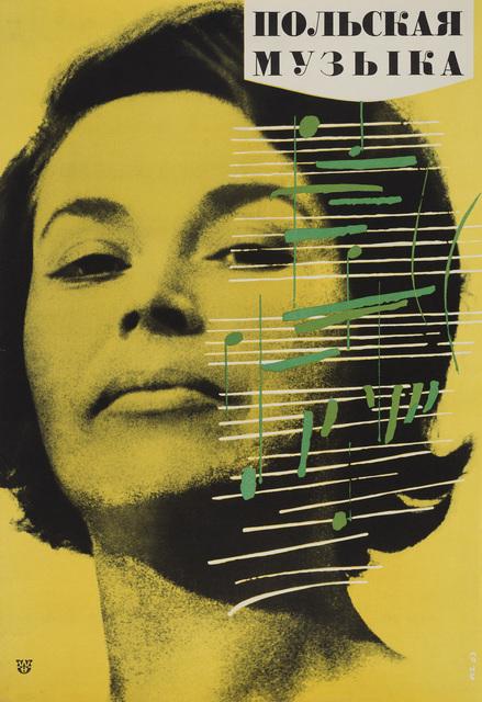 , 'New poster « La Musique Polonaise »,' 1963, Musée de l'Elysée