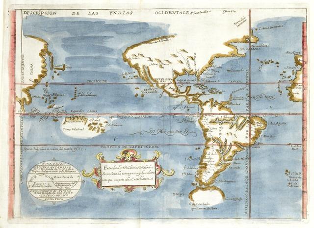 , 'Descripción de las Yndias Ocidentales (Overview of the Ocidental Indies),' , Musée du quai Branly