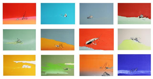 , 'Last Leg Series,' 2012, Cade Tompkins Projects