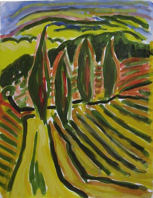 , 'Toscane 05,' 2008, Galerie Marie-Robin