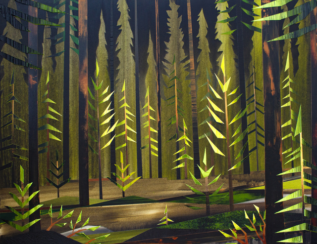 , 'Night Forest ,' 2017, Peter Robertson Gallery