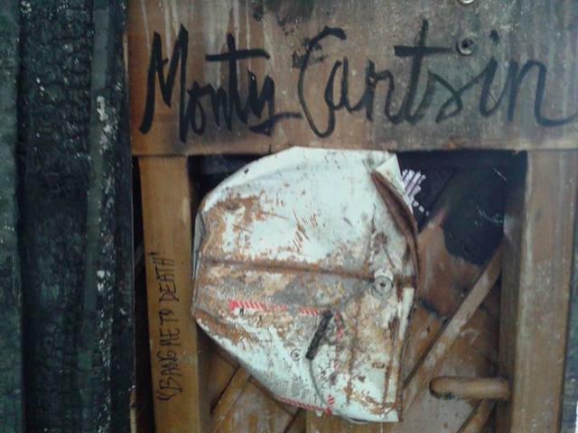 """, 'Burnt Piano """"Bang Me to Death (signature detail),' 2015, Robert Kananaj Gallery"""