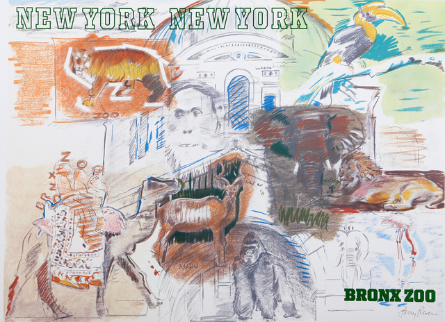 Larry Rivers, 'Bronx Zoo', 1983, RoGallery