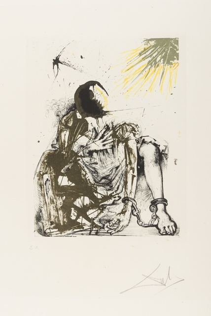 Salvador Dalí, 'Sigismund Enchainé (from Calderón: La Vie est un songe) (M&L 523a; Field 73-1-m)', 1971, Forum Auctions