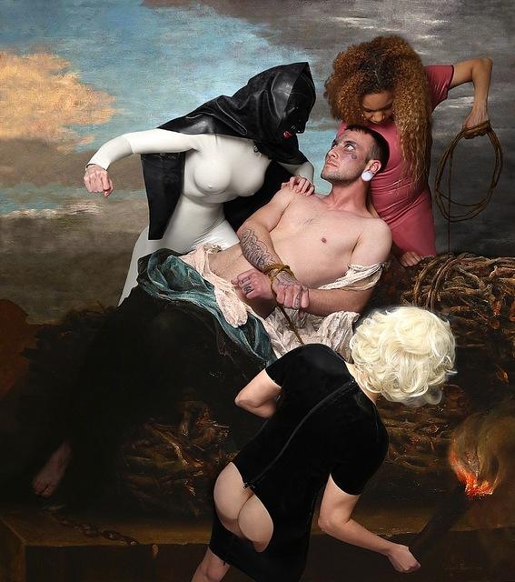 SameSource, 'Scènes de l'inquisition et Espagne (L'autodaté)', 2019, Fabrik Projects Gallery