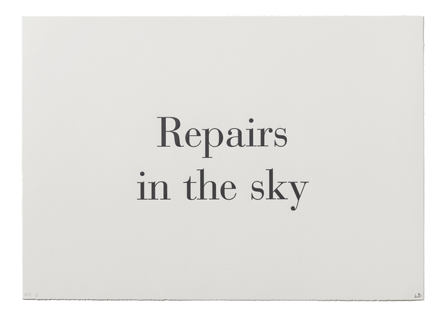 ", '""Repairs in the Sky"" from ""What is the Shape of this Problem?"",' 1999, Burning in Water"