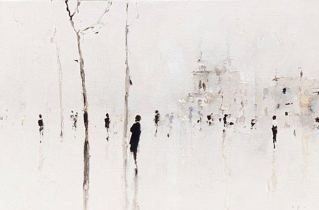 Geoffrey Johnson, 'Paris Street III', 2019, Shain Gallery