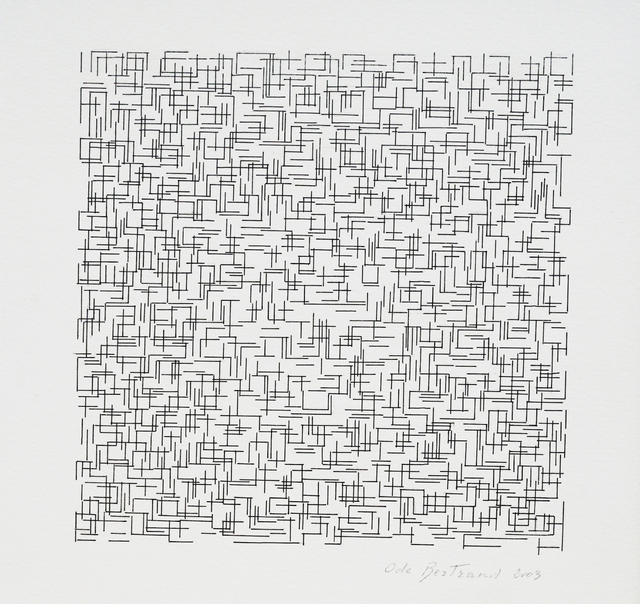 , 'Grille,' 2003, ART'LOFT, Lee-Bauwens Gallery