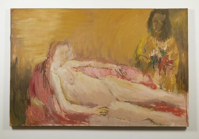 Robert Colescott, 'Olympia', ca. 1959, Russo Lee Gallery