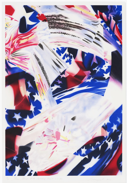 , 'Stars and Stripes at the Speed of Light,' 2010, michael lisi / contemporary art