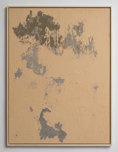 Latifa Echakhch, 'Nude', 2017, Painting, Concrete, acrylic paint, Dvir Gallery