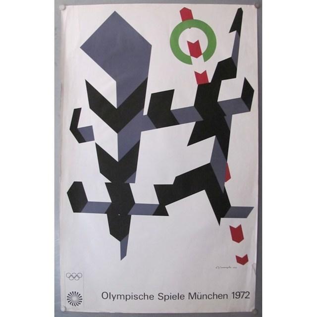 Allan D'Arcangelo, 'Olympic Poster', 1972, Grob Gallery