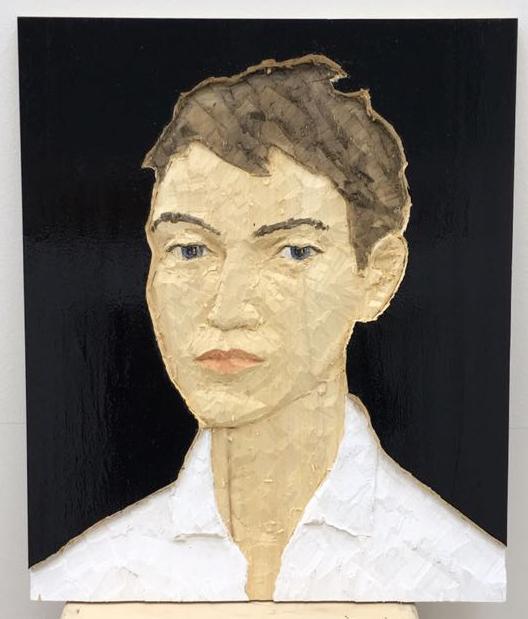 , 'Kopfrelief Mann,' 2018, Galerie Jochen Hempel