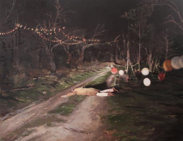 , 'Lázaro clausurando la verbena,' 2017, Galeria Contrast