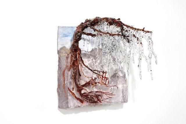 , 'Nell'ombra del piangente,' 2018, Galleria Punto Sull'Arte