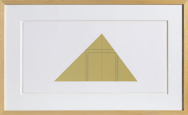 Robert Mangold (b.1937), 'untitled from Book of Silk Screen Prints: Multiple Panel Paintings 1973-1976', 1988, RoGallery