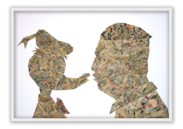, 'Donald and Kim ,' 2018, Lemon Frame gallery
