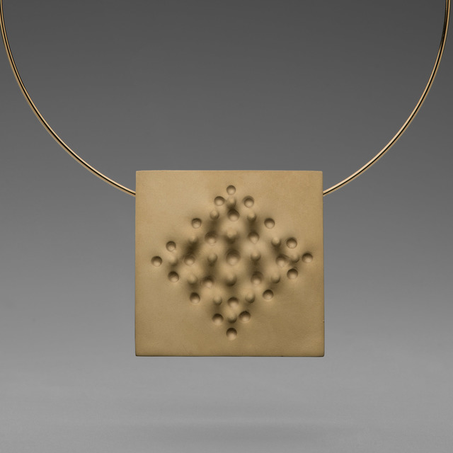 , 'Superficie necklace,' 2013, Elisabetta Cipriani