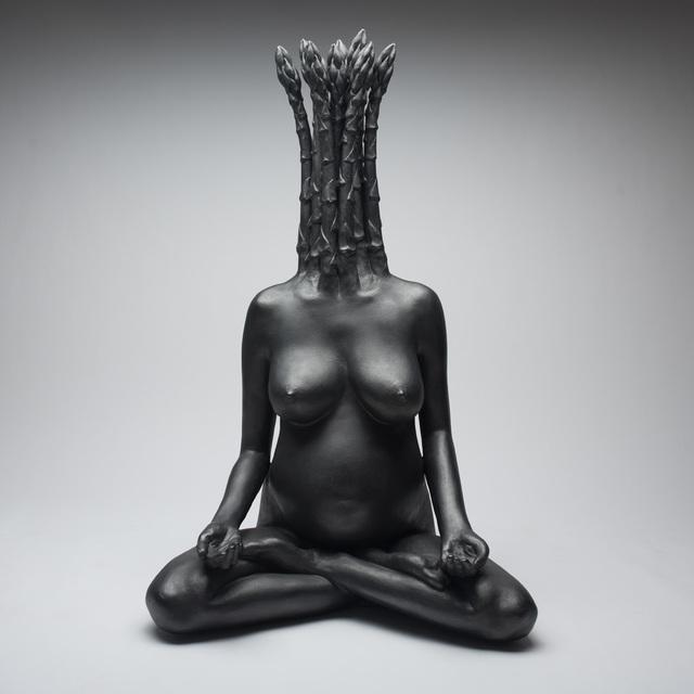 , 'Asparagus Buddess,' 2001, Hieronymus