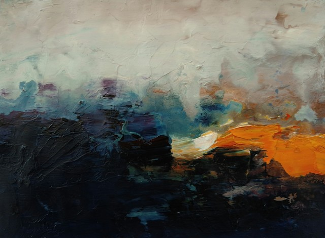 , 'Landscapes on Paper XI,' 2018, Bustamante NYC Art Gallery